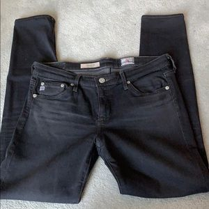Adriano Goldschmied dark gray super skinny jeans